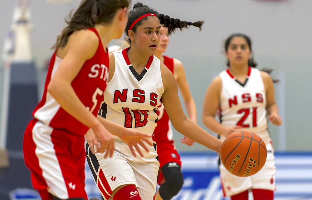 29d1c4bc35a A senior boys basketball powerhouse through the 1980s, North Surrey's  junior girls, including Sahara Mand, would love to build their own  tradition for ...